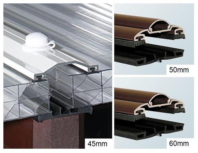 Standard Aluminium Capped Rafter Bar