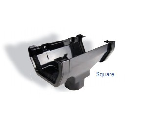Square Guttering